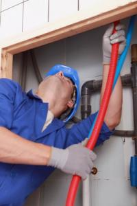 Jake is doing a plumbing inspection in Burlingame CA